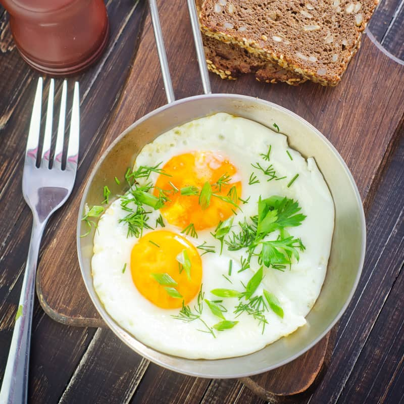 The Perfect Sunny Side Up Eggs - Bariatric Recipes - New Hope Surgical